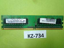 Samsung DDR2-533 RAM PC2-4200U M378T6553CZ3-CD5 512 MB #KZ-734