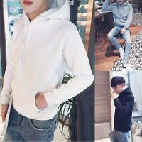 Men's Winter Hoodies Slim Fit Hooded Sweatshirt Outwear Sweater Coat Jacket Lot
