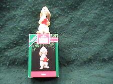 NEW 1991 Hallmark Keepsake Ornament Winnie the Pooh Rabbit with Red Star Disney