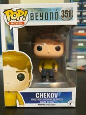 Funko Pop Chekov #351 Star Trek Beyond w/protector Movies