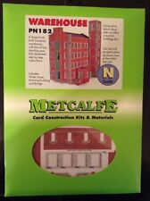 Metcalfe PN182. Warehouse. Card Construction Kit. N Scale.