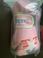 Xnature 4oz 6oz 8oz PU Kids Boxing Gloves,Gift Box Children Kickboxing Sparring