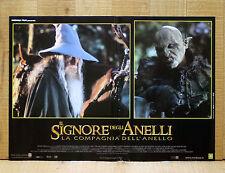 IL SIGNORE DEGLI ANELLI COMPAGNIA DELL'ANELLO fotobusta poster Lord Of Ring X12