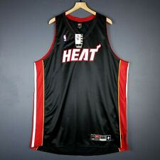 100% Authentic Miami Heat Vintage Nike Blank Jersey Size 56 3XL Mens