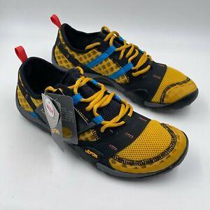 New Balance Minimus T10v1 Black Yellow Sneakers MT10YY, Men's Size 9.5 2E