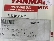 YANMAR  714350-22502 KOMPLET PIERŚCIENI