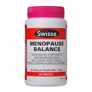 Swisse Ultiboost Menopause Balance 60 Tablets