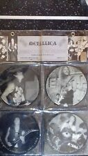 """Metallica """"A rare interview with Metallica"""" 4 pictures discs 45t"""