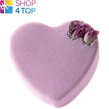 PINK ROSEBUD HEART BATH BLASTER BOMB COSMETICS JASMINE ROSE HANDMADE NATURAL NEW