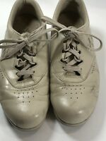 SAS Free Time Mocha Leather Oxford Lace/Tie Shoes Size 8 1/2 M