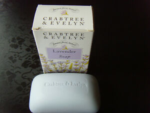 Luxury Brand Crabtree & Evelyn Boxed bar 100g Original Lavender Soap
