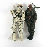 Lot of 2: Vintage Hasbro GI JOE 12 Inch Action Figures 1:6 YETI CAMO