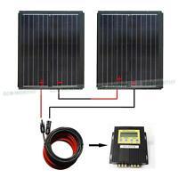 MPPT SERIES KIT: 150 Watt  2*90W Watt PV Mono Solar Panel for 12V RV Boat Home