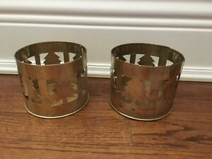 BRAND NEW BRASS CANDLE HOLDERS