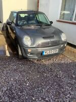 MINI COOPER S 2003 R53 RE32 Only 63385 miles