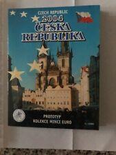 More details for czech republic / ceska republika 2004 euro  pattern coin set - free uk p&p