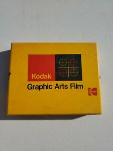 """Kodak Kodalith Ortho Film 4x5"""" Type 3 2556 #12"""