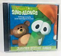 VeggieTales Juniors Bedtime Songs CD Asparagus Christian Kids Bedtime New Sealed