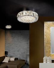 Plafones Led con Cristal Facetado : Colección DANA PQ de 23x8x23cms.