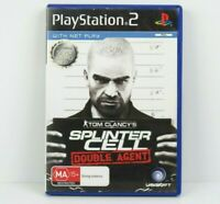 Tom Clancy's Splinter Cell Double Agent PS2 PlayStation 2 Game Complete PAL