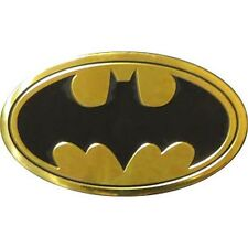 BATMAN - CLASSIC LOGO - METALLIC STICKER - 4.5 x 2.75 - BRAND NEW 0144