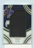 KENNETH DIXON  2016 Panini Immaculate Rookie JUMBO Relic Jersey #D /25