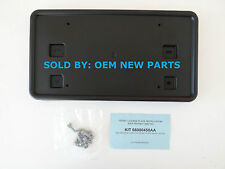 2011-2016 Jeep Patriot Front License Plate Bracket Holder Factory with Hardware