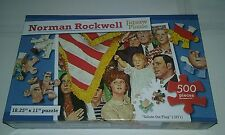 Norman Rockwell Puzzle, 500 Piece