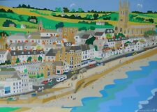 Art Print, Penzance,  Cornwall, Richard Lodey, Nautical Scene, Framed