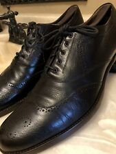 Alexander McQueen Brown Leather Brogue Shoes Sz 44 ( US 11)  Italy Rare Vintage