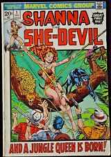 Marvel SHANNA THE SHE-DEVIL #1 (FN-) 1st App. of Shanna the She-Devil