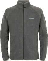 Columbia Basin Trail Fleece Jacket Mens Sweater zipper Jumper gray