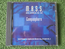 Musik CD M.A.S.S. Compusphere Electronic & Computer Music Collection Folge 2