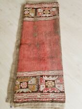 Pre-1900s Antique Wool Pile 4x6ft Oushak  Rug for Collectors