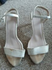 New Look Size 7 Heels Sandals Extremely Well Worn