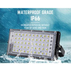 50W LED Lampe Projecteur Flood Light Lumière Extérieur Jardin Sécurité FR*