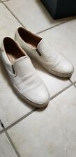 Wings and Horns mens size 42 White Slip on shoes