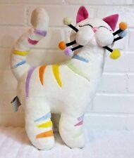 "WhimsiClay Whimsical Plush Cat by Amy Lacombe 14"" Stuffed Animal Plush     (A22)"