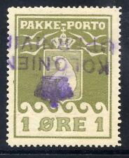 GREENLAND 1905 Parcel Post 1 Øre  used.