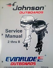 1997 Johnson Evinrude 2 2.3 3.3 4 5 6 8 HP Outboard Shop Service Repair Manual