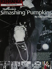 SMASHING PUMPKINS - KERRANG 8 PAGE MAGAZINE POSTER PULL-OUT SUPPLEMENT