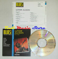 CD LUTHER ALLISON Rich man BLUES COLLECTION 1993 DeAGOSTINI mc lp dvd vhs