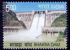Bhakra Dam, One of highest dams of Asia, Architecture, India 2013 MNH 1v