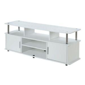 "Convenience Concepts Designs2Go 60"" Monterey TV Stand, White - 151440W"