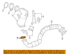 GM OEM Exhaust-Front Pipe Gasket 23238284