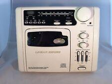 LS7600 RV CD PLAYER AM/FM RADIO Magnadyne white in-wall RV Camper  7500 black