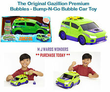 The Original Gazillion Premium Bubbles - Bump-N-Go Bubble Car Toy