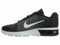 Size 15 Nike Men Air Max Sequent 2 Shoes 852461 005 Black White