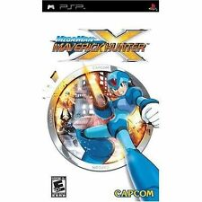 Mega Man Maverick Hunter X Essentials Edition Sony PSP Game