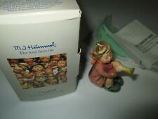 1984 HUMMEL / GOEBEL GIRL WITH TRUMPET FIGURINE & BOX HUM 391 #733 2.5""